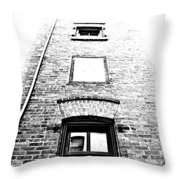 Floating Rooms Throw Pillow by Matthew Blum