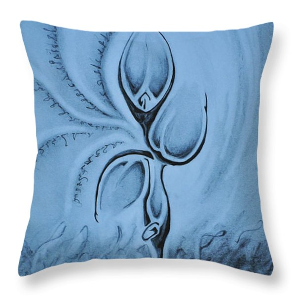 For All To See Throw Pillow by Matthew Blum
