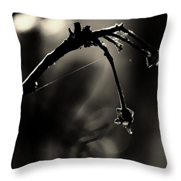 Hand Of Nature Throw Pillow by Jessica Shelton