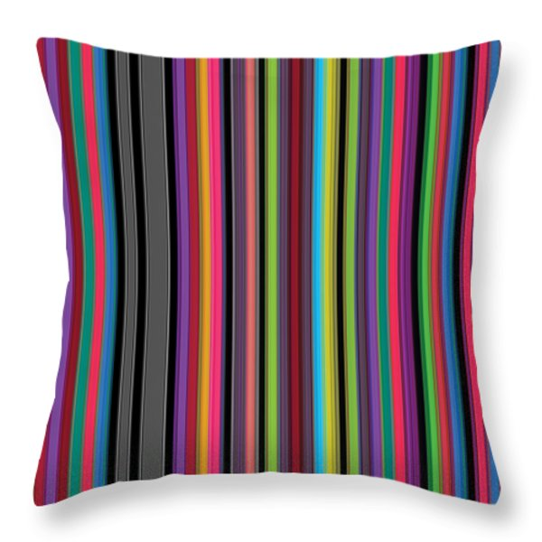 1 Headline Throw Pillow by Revad David Riley