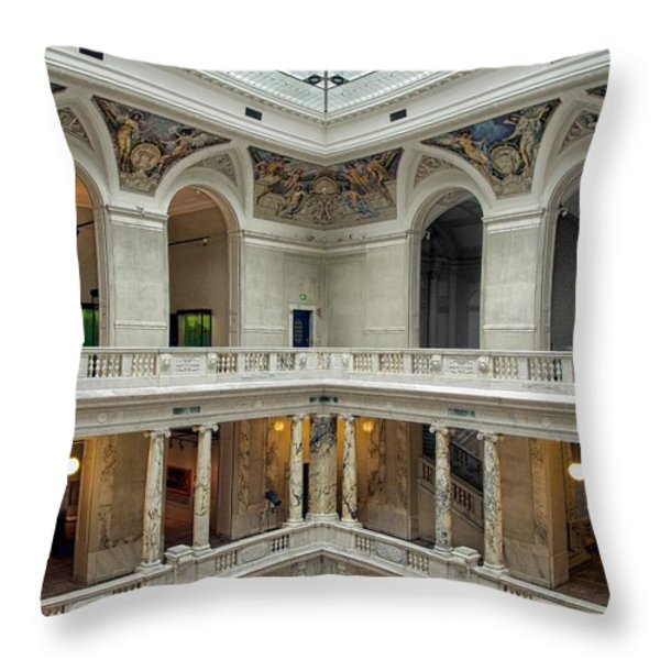 Hofburg Palace Throw Pillow by Mountain Dreams