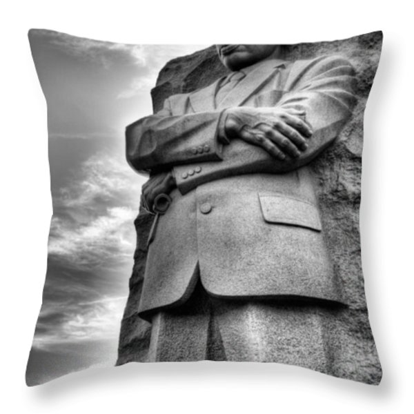 I have a Dream  Throw Pillow by JC Findley