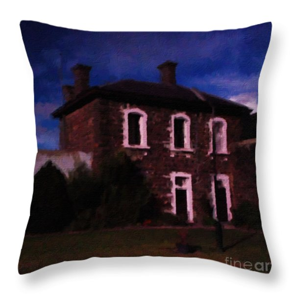 J Ward Ararat Throw Pillow by Blair Stuart
