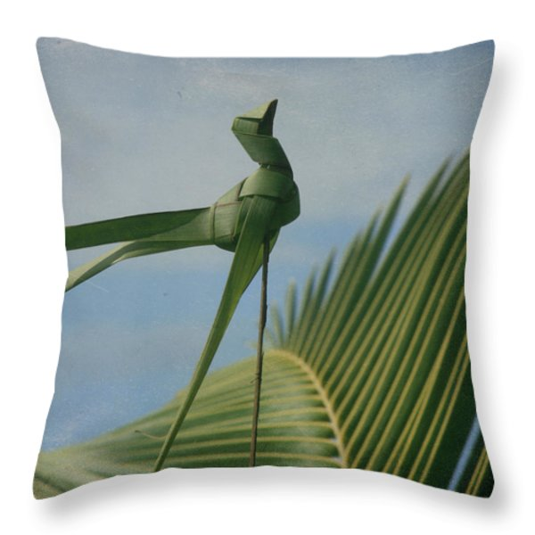 Keanae Throw Pillow by Sharon Mau
