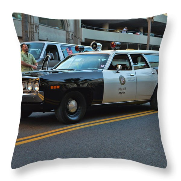 1-L-20 Throw Pillow by Tommy Anderson