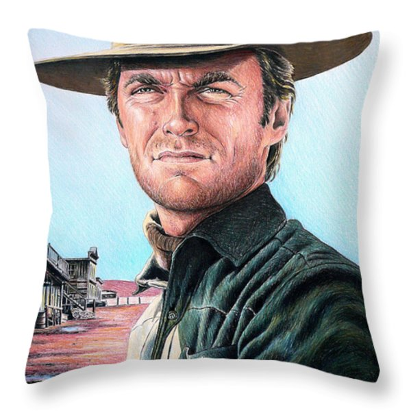 Law And Order Throw Pillow by Andrew Read