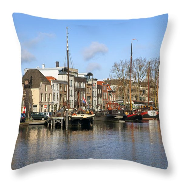 Leiden Throw Pillow by Joana Kruse