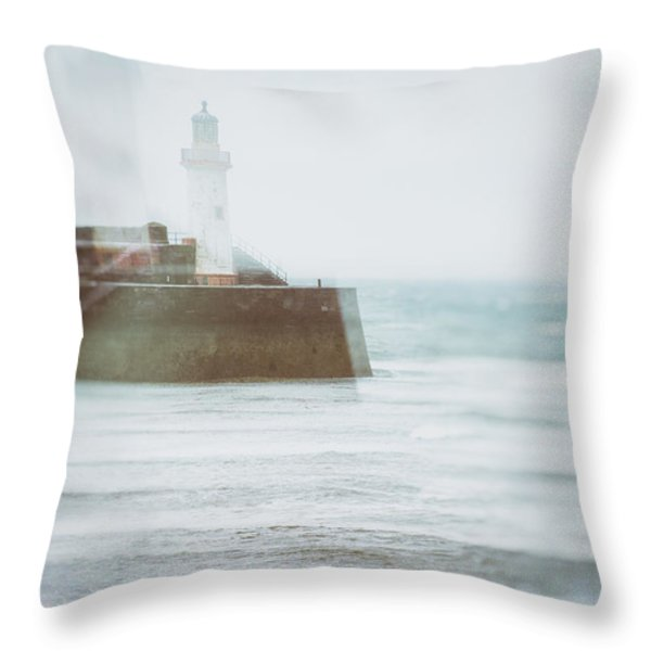 Lighthouse Throw Pillow by Amanda And Christopher Elwell