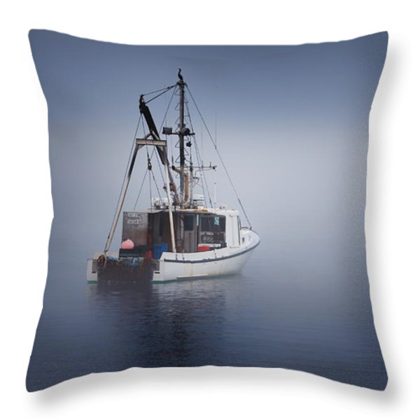 Lost Throw Pillow by Bill  Wakeley