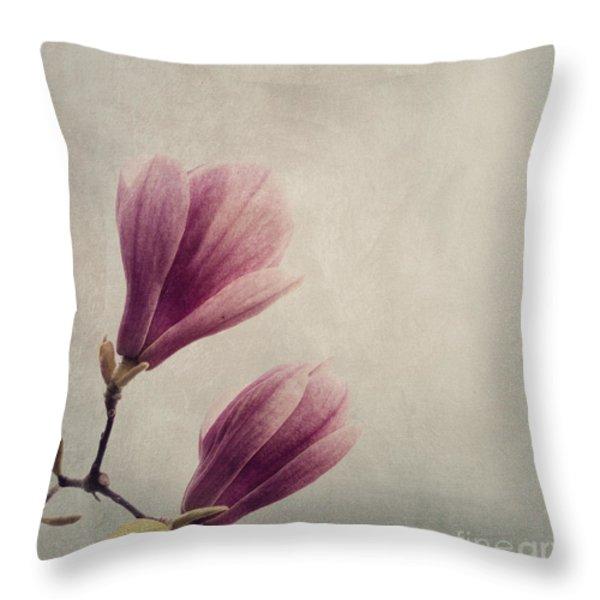 Magnolia Throw Pillows for Sale
