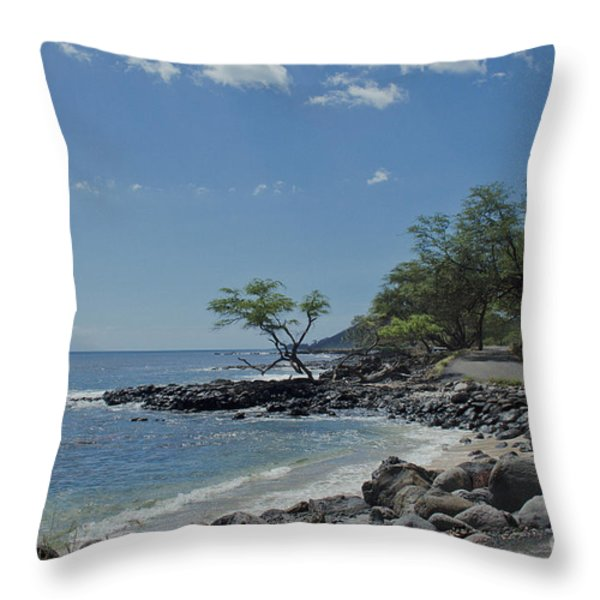 Makena Throw Pillow by Sharon Mau