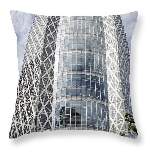 Mode Gakuen Cocoon Tower Throw Pillow by For Ninety One Days