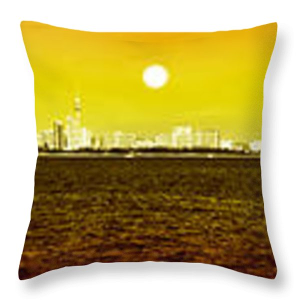 pattaya scenic Throw Pillow by ATIKETTA SANGASAENG