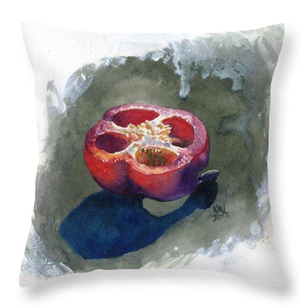 Pepper Throw Pillow by Ken Meyer jr