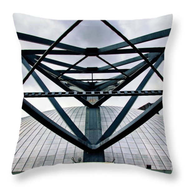 Perspectives Mellon Arena Throw Pillow by Amy Cicconi