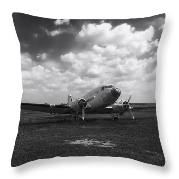 Put Out To Pasture Throw Pillow by Mountain Dreams