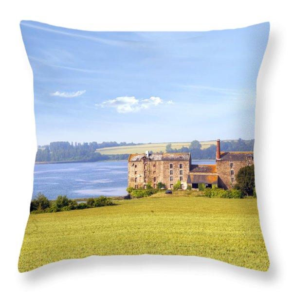 Rance - Bretagne Throw Pillow by Joana Kruse