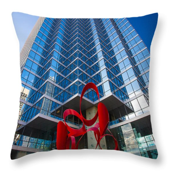Reach for the sky Throw Pillow by Inge Johnsson