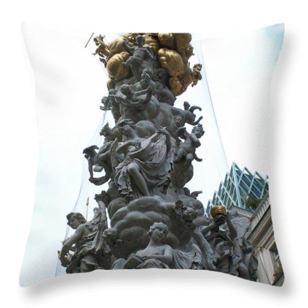 Sculpture Throw Pillow by Evgeny Pisarev