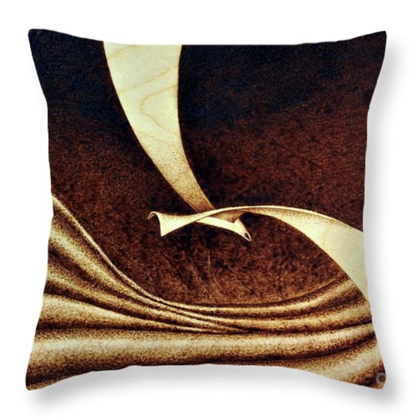 Seagull Throw Pillow by Ilaria Andreucci