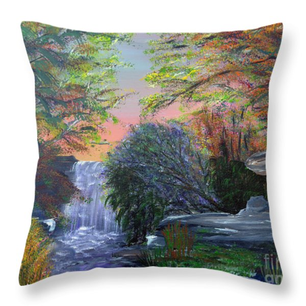 September Reverie Throw Pillow by Alys Caviness-Gober