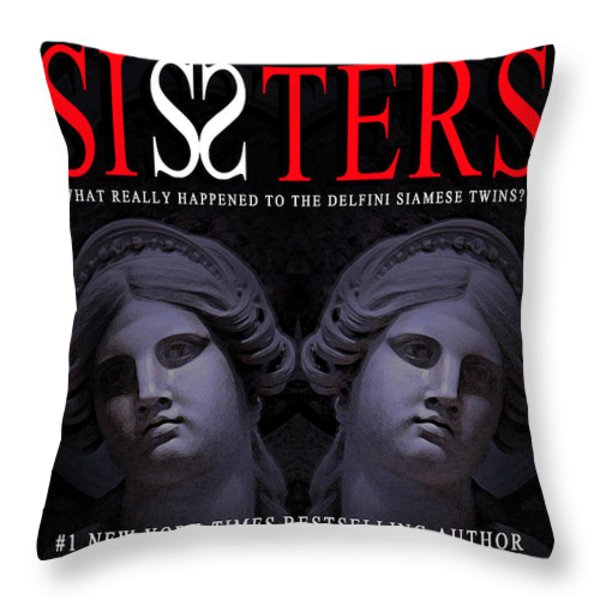 Sisters Throw Pillow by Mike Nellums