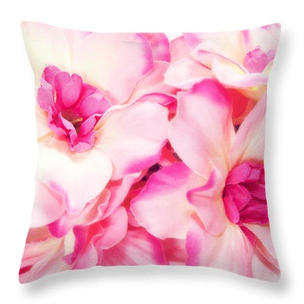 Spring Flowers  Throw Pillow by Michal Bednarek