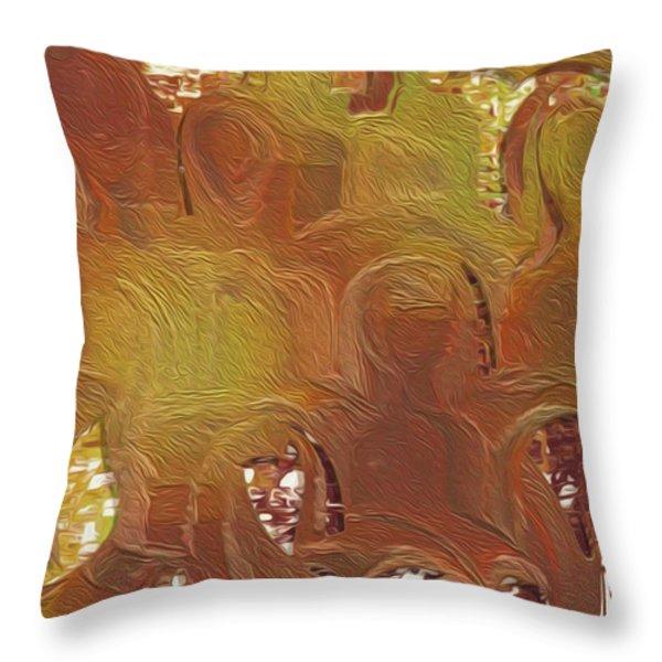 Standing Ovation 4 Throw Pillow by Jack Zulli