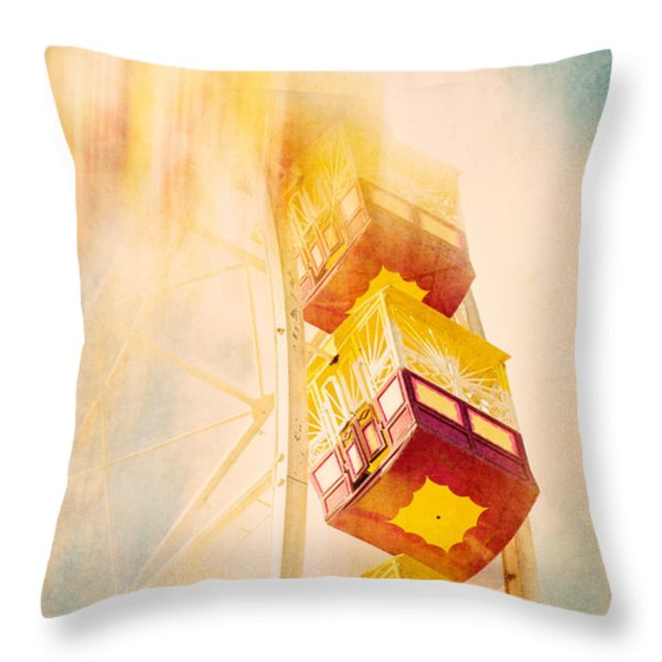 Summer Dreams Throw Pillow by Amy Weiss