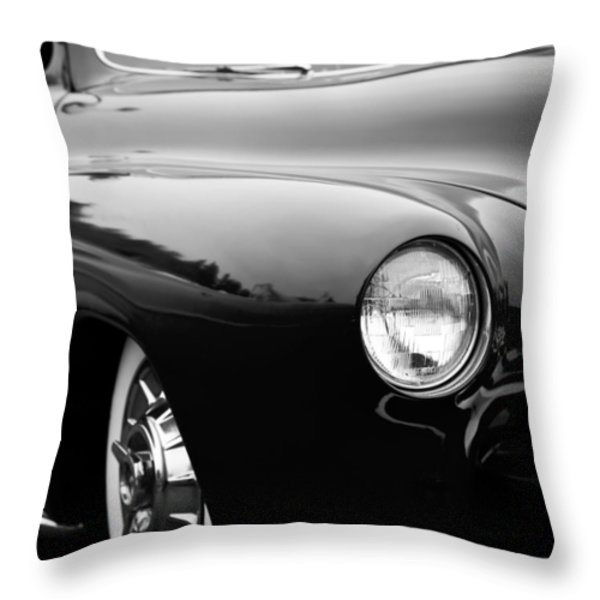 The 1950 Mercury Throw Pillow by David Patterson