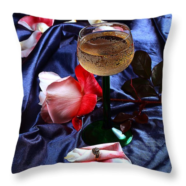 The Proposal Throw Pillow by Camille Lopez