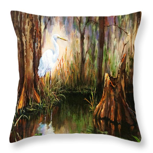 The Surveyor Throw Pillow by Dianne Parks