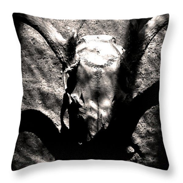 The Worms Are Full Throw Pillow by Matthew Blum