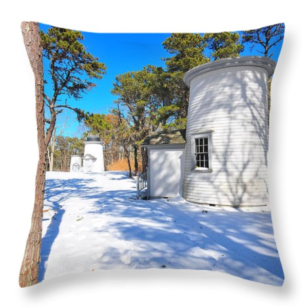 Three Sisters Light Throw Pillow by Catherine Reusch  Daley