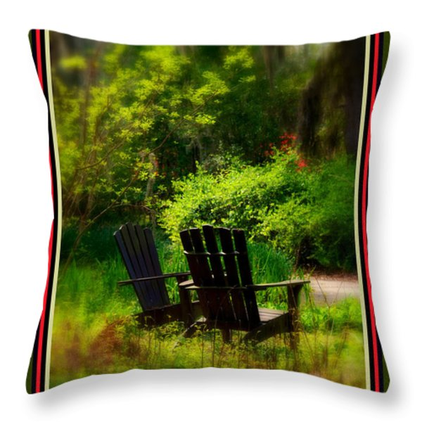 Time for Coffee Throw Pillow by Susanne Van Hulst