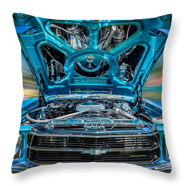 Time Warp Throw Pillow by Bill  Wakeley