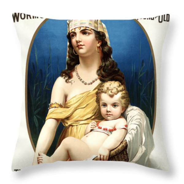Tonic Vermifuge Throw Pillow by Gary Grayson
