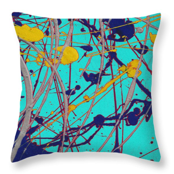 Traveling Fast Inside His Dreams Throw Pillow by Sir Josef Social Critic - ART