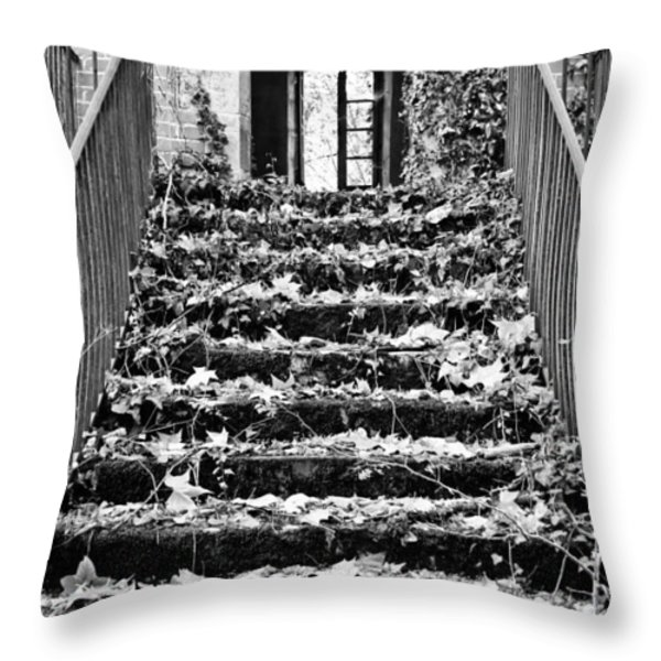 Up to the light Throw Pillow by Nomad Art And  Design