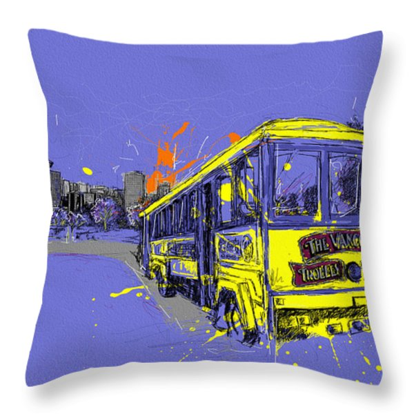 Victoria Art 014 Throw Pillow by Catf