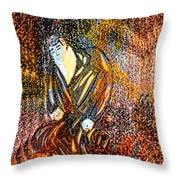 Vulcan Retreat Throw Pillow by M and L Creations