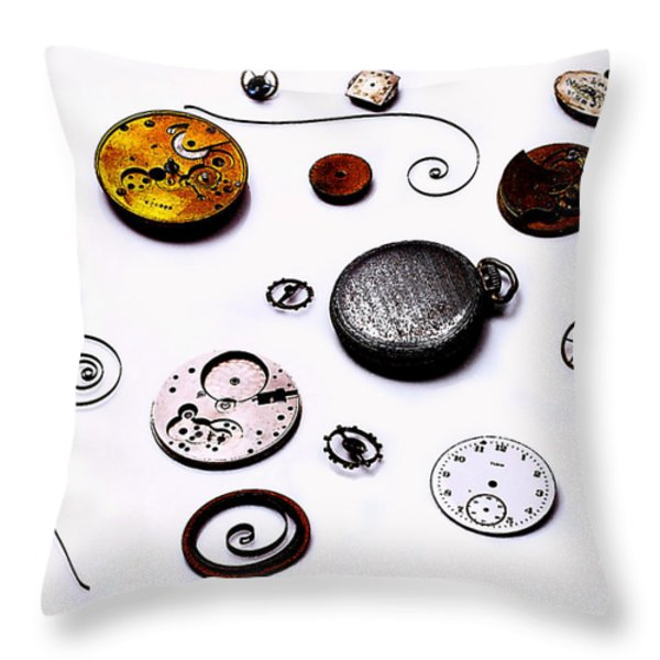 Watch Me  Throw Pillow by Camille Lopez