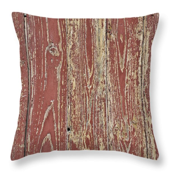 Weathered And Worn Throw Pillow by Nomad Art And  Design