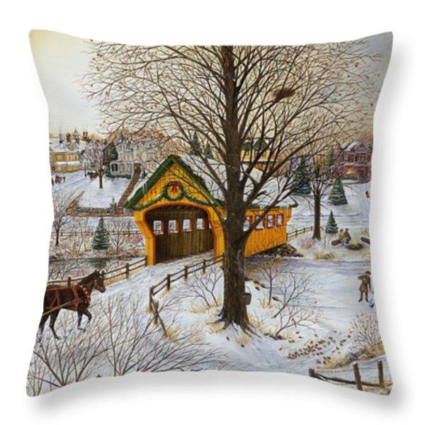 Winter Memories Throw Pillow by Doug Kreuger