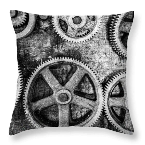 Workshop Throw Pillow by Alexey Stiop