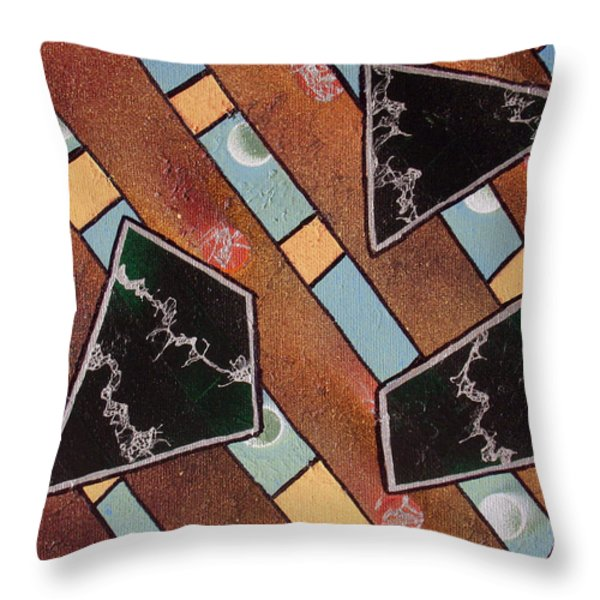 Untitled Throw Pillow by Joshua Hamell