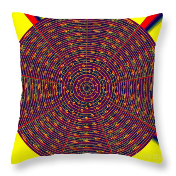1020 Abstract Thought Throw Pillow by Chowdary V Arikatla