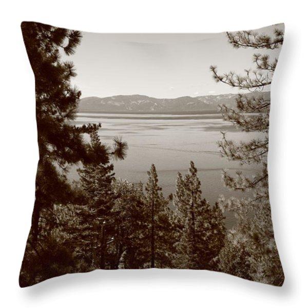 Lake Tahoe Throw Pillow by Frank Romeo