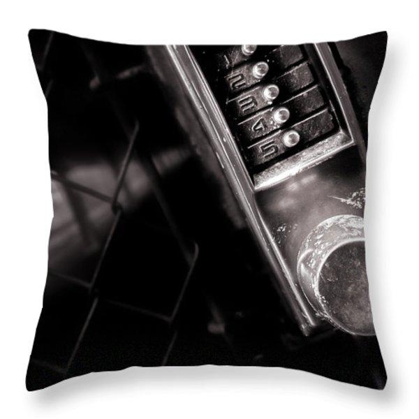 12345 Throw Pillow by Bob Orsillo