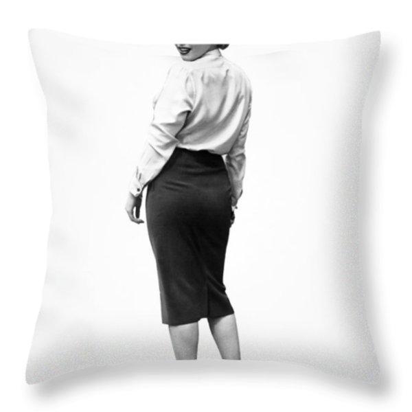Marilyn Monroe (1926-1962) Throw Pillow by Granger